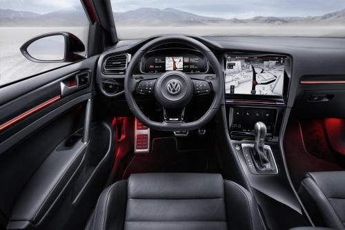 small resolution of volkswagen golf r touch concept active information display