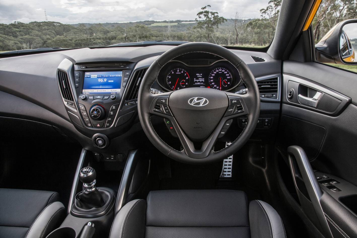 Hyundai Veloster Revised With New Features And Sharper