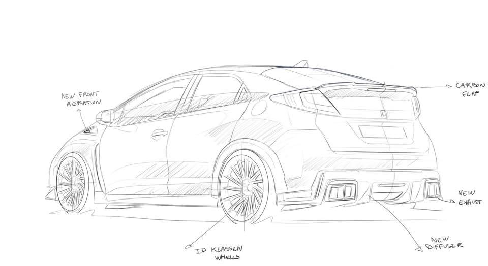 Honda Tuning: RevoZport previews bodykit for Honda Civic