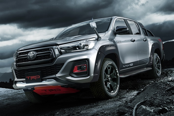 toyota yaris trd parts new agya 2017 2019 hilux gains goodies forcegt com s in house customizing development arm which carries out motor sports activities and customised under the brand
