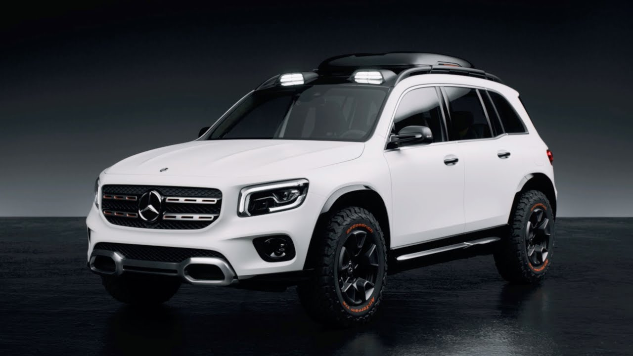 New Mercedes Benz Glb Concept Is Rugged Baby Suv Addition