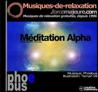 Méditation Alpha exercice de relaxation