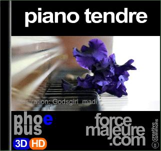 piano tendre par Phoebus pour forcemajeure.com musique de relaxation gratuite