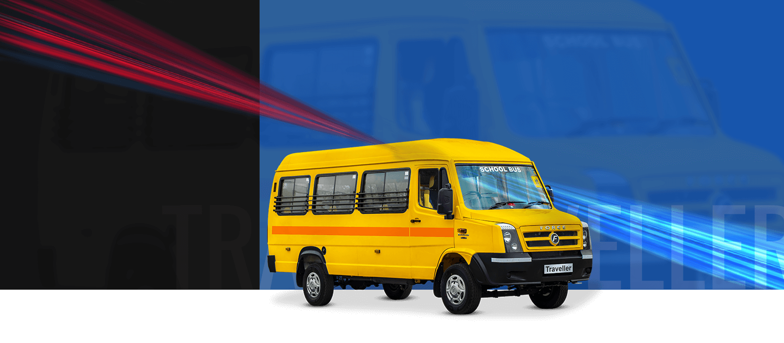 hight resolution of traveller school bus 3350