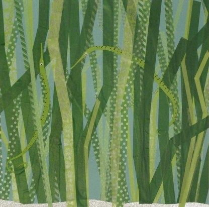 Dan Monceaux - Pipefish in seagrass (2019)