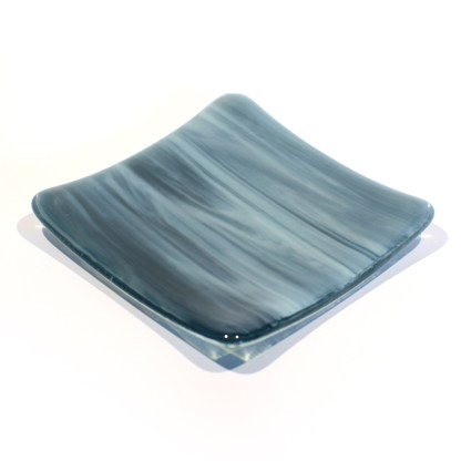 Emma Monceaux River 4 square plate small front 2020