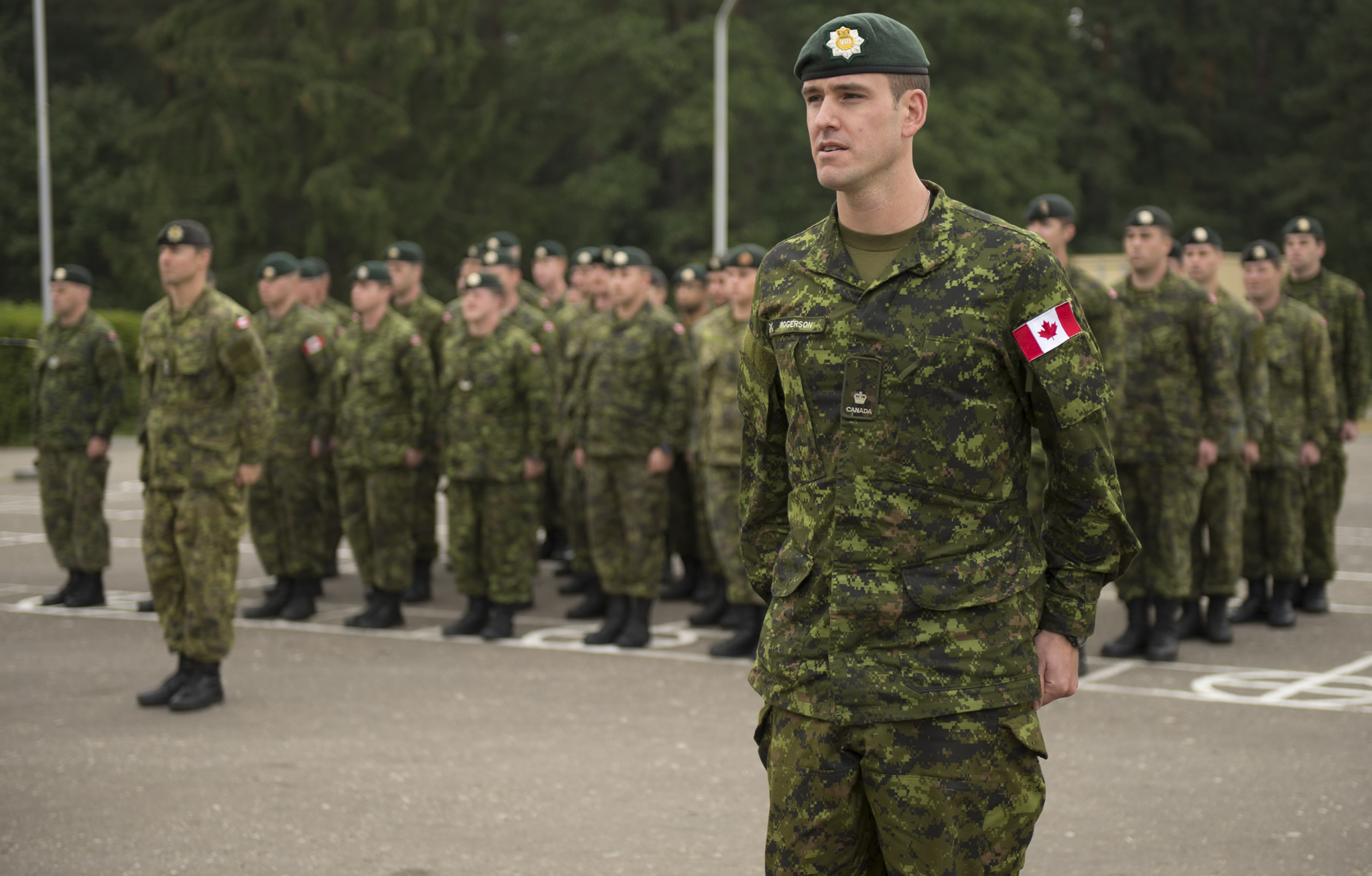 Image result for Canadian Troops