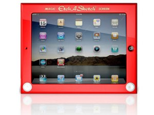 THE ETCH-A-SKETCH Goes High Tech