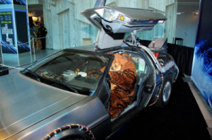 NO, YOU ARE NOT HALLUCINATING. That Really Is An Ewok In a DeLorean
