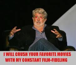 GEORGE LUCAS TO RE-RELEASE THE ENTIRE STAR WARS Franchise in 3-D: And You Thought Jar Jar Binks Was Annoying Before