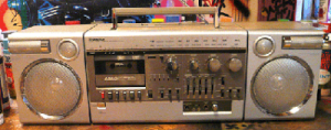 THE BOOMBOX PROJECT: A Look Back at the 80's Version of the iPod.