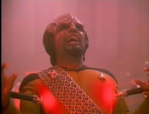 WORF AND THE TERRIBLE, HORRIBLE, NO GOOD, VERY BAD DAY