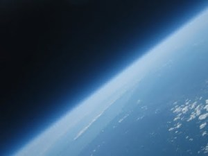 SCIENCE GEEK: Father and Son Send A Balloon and Video Camera Into Space Together…While Yours Just Asks For Another Beer Before He Farts Loudly.