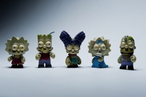 Kidrobot Unleashes Simpsons Zombies, Mariachis and More!