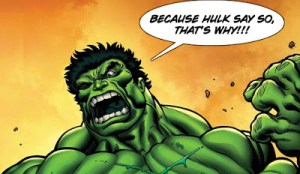 WATCH THIS! It's The SON OF THE HULK!