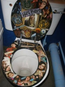 HARRY POOPER AND THE FANATICAL PORCELAIN THRONE