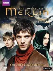 MERLIN: THE COMPLETE SECOND SEASON (dvd review)