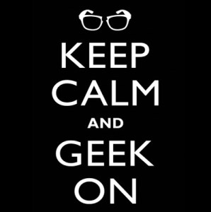 CONTEST!!!  Win a KEEP CALM•GEEK ON T-Shirt From 604Republic!