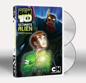 BEN 10: ULTIMATE ALIEN POWER STRUGGLE Gets a DVD Release