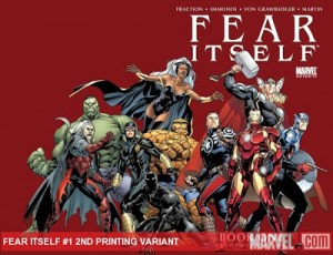 Marvel Announces 2nd Printing for FEAR ITSELF #1