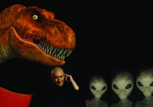 GRANT MORRISON To Write DINOSAURS VERSUS ALIENS Film and Graphic Novel