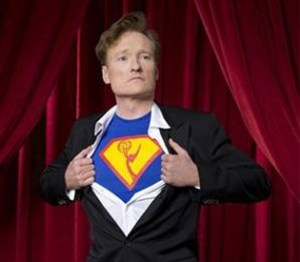 SDCC: Conan O'Brien goes all Flaming C!