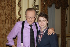 """Tom Riddle From Little Hangleton, You're On…"" LARRY KING Lands POTTER Interviews!"