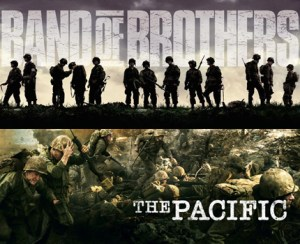 Attention HISTORY GEEK!  BAND OF BROTHERS/THE PACIFIC Gift Set Is Coming Home!