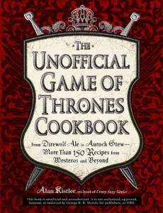 CONTEST! Win THE UNOFFICIAL GAME OF THRONES COOKBOOK!