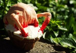 MMMMM…DOESN'T A HEAD-CRAB Cupcake Sound Good?