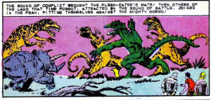 Comic News: <br>Alert: Ditko's GORGO Surfaces!