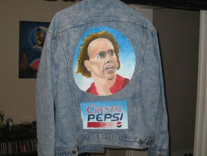 IF SOMEONE CAN SELL This Horrible Nic Cage/Crystal Pepsi Jean Jacket For $200, There's No Reason You Can't Follow Your  Dreams To Fame and Fortune