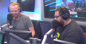 SIMON PEGG and NICK FROST Cover DAFT PUNK's 'Get Lucky' In Their Own Special Way