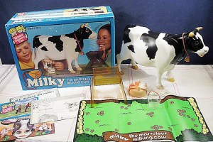 THROWBACK THURSDAY: Milky the Marvelous Milking Cow…A Toy That Would Ultimately Kill You