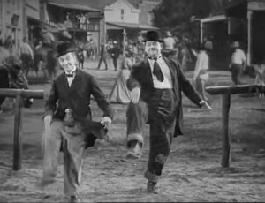 LAUREL & HARDY Dance to the DOCTOR WHO Theme Song…I Think We Need This