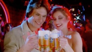 THROWBACK THURSDAY: Watch Patrick Swayze Get Drunk on Pabst and Disco Shimmy His Way Into A Girl's Pants…Or Something Like That