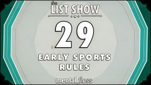 29 Early Sports Rules