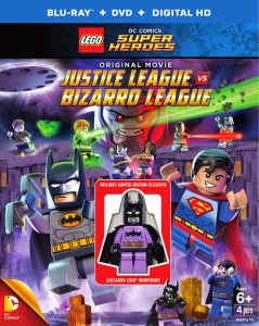 LEGO JUSTICE LEAGUE VS. BIZARRO LEAGUE Arrives 2-10-15 on Blu-ray/DVD/Digital HD