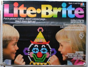 Flashback: LITE-BRITE, Making Things With Light…