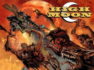 Western Horror Webomic, HIGH MOON, Returns