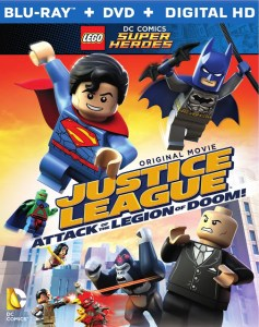 WB Announces LEGO JUSTICE LEAGUE: Movie, ATTACK OF THE LEGION OF DOOM! on Blu-ray Combo on 8/25!