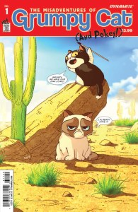 GRUMPY CAT Inks Comic Book Deal With DYNAMITE ENTERTAINMENT