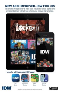 IDW Launches All-New Comic Apps