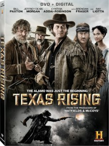 Win TEXAS RISING on DVD!