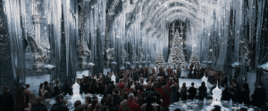 Dreaming of a White Hogwarts: Set Dressing for Christmas