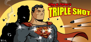 Triple Shot With a Digital Chaser: 'Action Man #1', 'She-Wolf #2', 'James Bond' #7 & 'Adventures of Supergirl' #11
