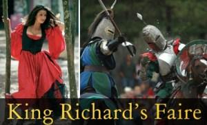 Huzzah! Win Passes For King Richard's Faire!