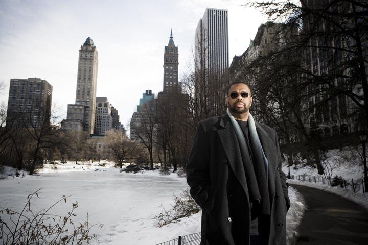 Dwayne McDuffie photographed by Seth Kushner