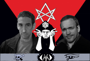 FOG! Chats With 'Aleister & Adolf' Creators Douglas Rushkoff and Michael Avon Oeming