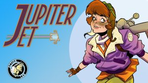 'Jupiter Jet' Comic Mini-Series Launched on Kickstarter from Jason Inman, Ashley Victoria Robinson and Ben Matsuya